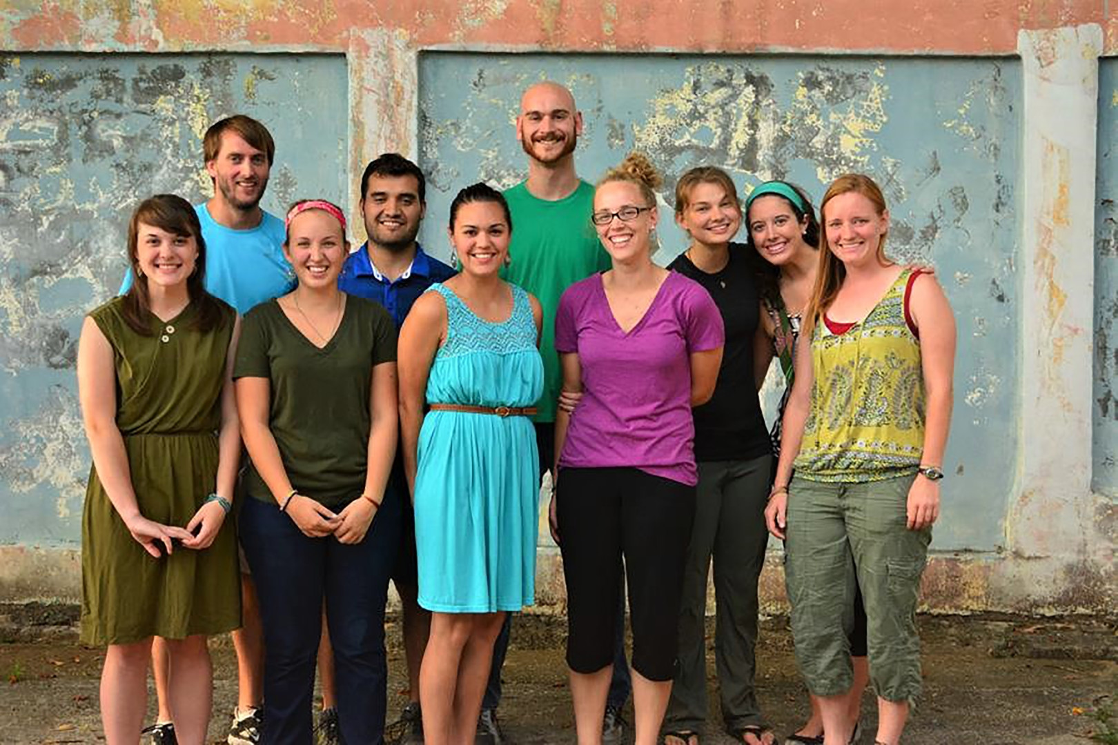 Volunteers from the United States who taught at the Bilingual School