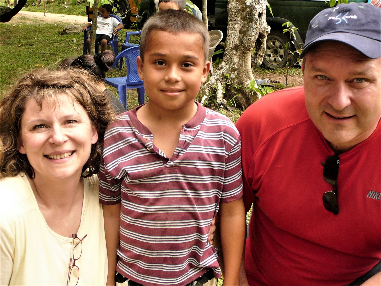 The drama team, Lisa and Scott Closner, and Daniel Manzanarez