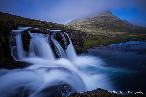 Kirkjufell Falls #2 (Ice-18)
