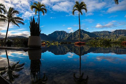 Reflections in Kauai, Hawaii