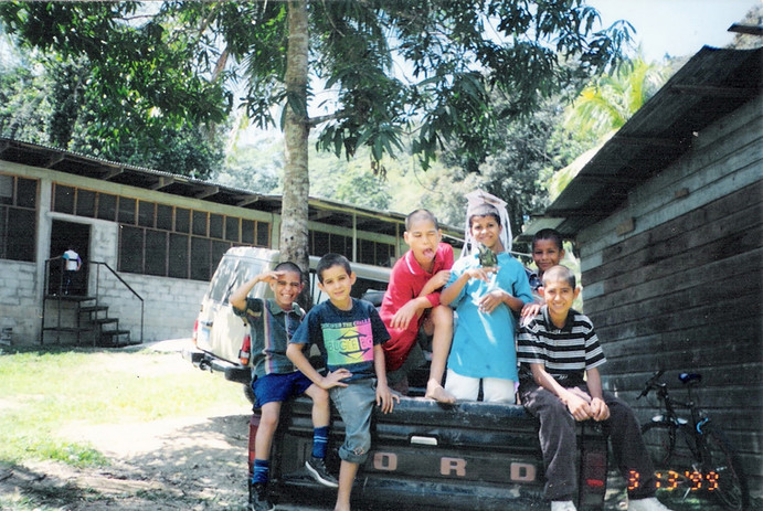The Pita's Orphanage back in March 1998