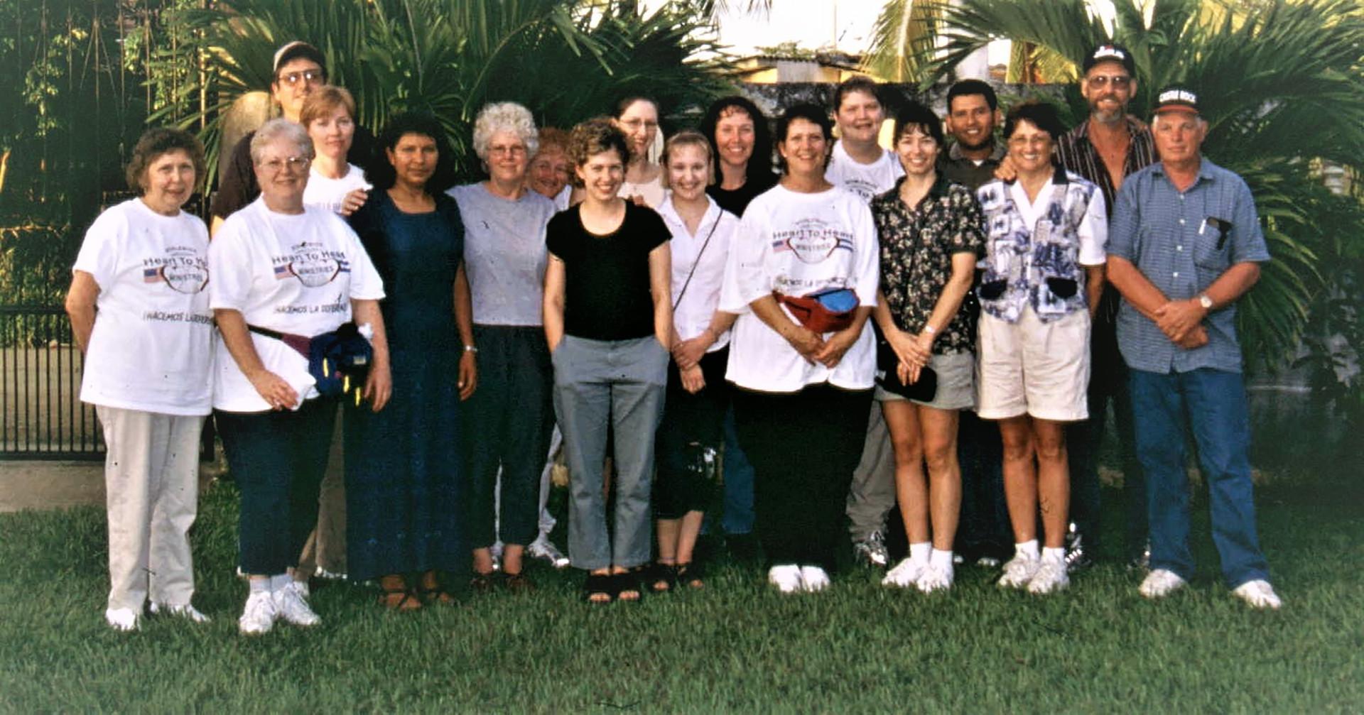 Medical and dental team in Honduras - 2004