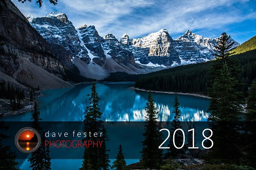 2018 Calendar - Dave Fester Photography