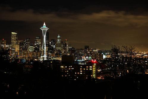Seattle at Night (C-04)