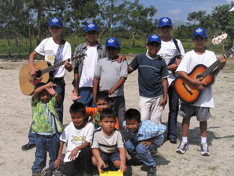 Boys from the children's village