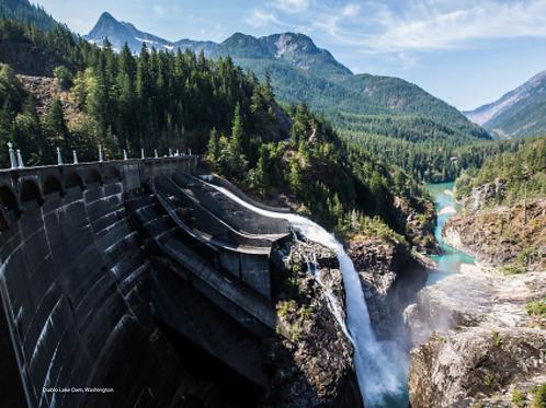 Diablo Lake Dam - North Cascades National Park