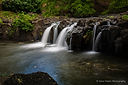 Waterfalls in Oahu, Landscape photographer, Dave Fester photography
