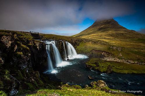 Kirkjufell Falls #1 (Ice-17)