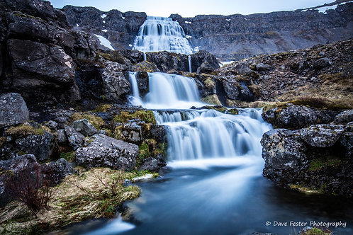 7-layers Dynjandi Falls - West Fjords (Ice-01)