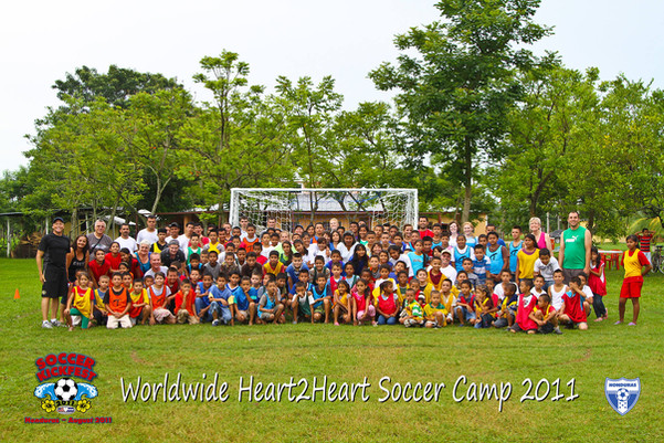 H2H Soccer Camp 2011