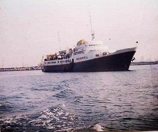 Spirit Ship that Amy & Oscar served on