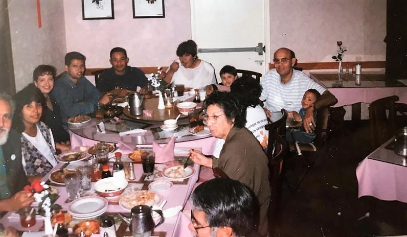 Laura Smith, Robert, Paul, Diana Smith Family