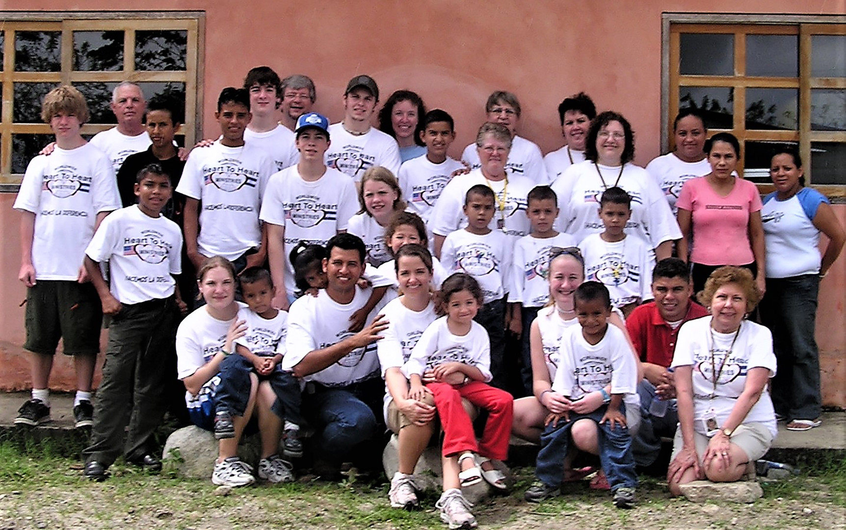 Teams that served at the Children's Village