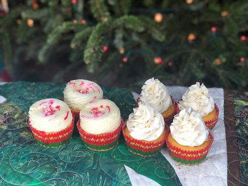 Spiced Rum Eggnog Cupcakes 6 ct.
