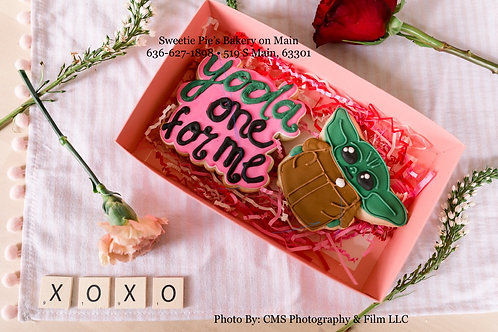 """Yoda one for me"" Cookie Box"