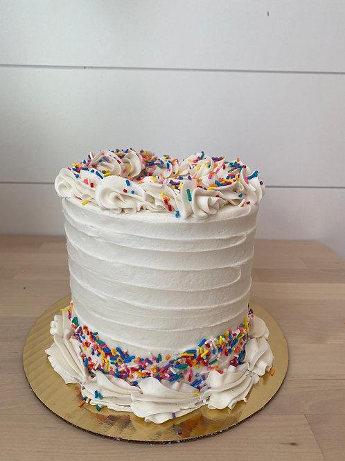 Vanilla Sprinkle Cake