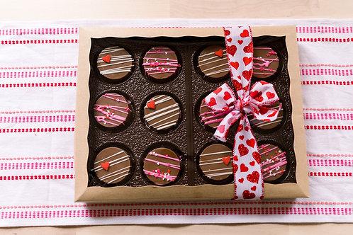 12 Milk Chocolate Covered Oreos