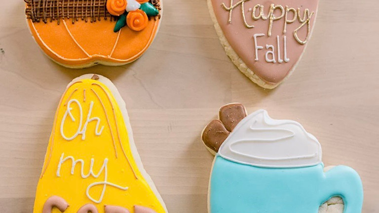 College Night Fall Cookie Decorating Class