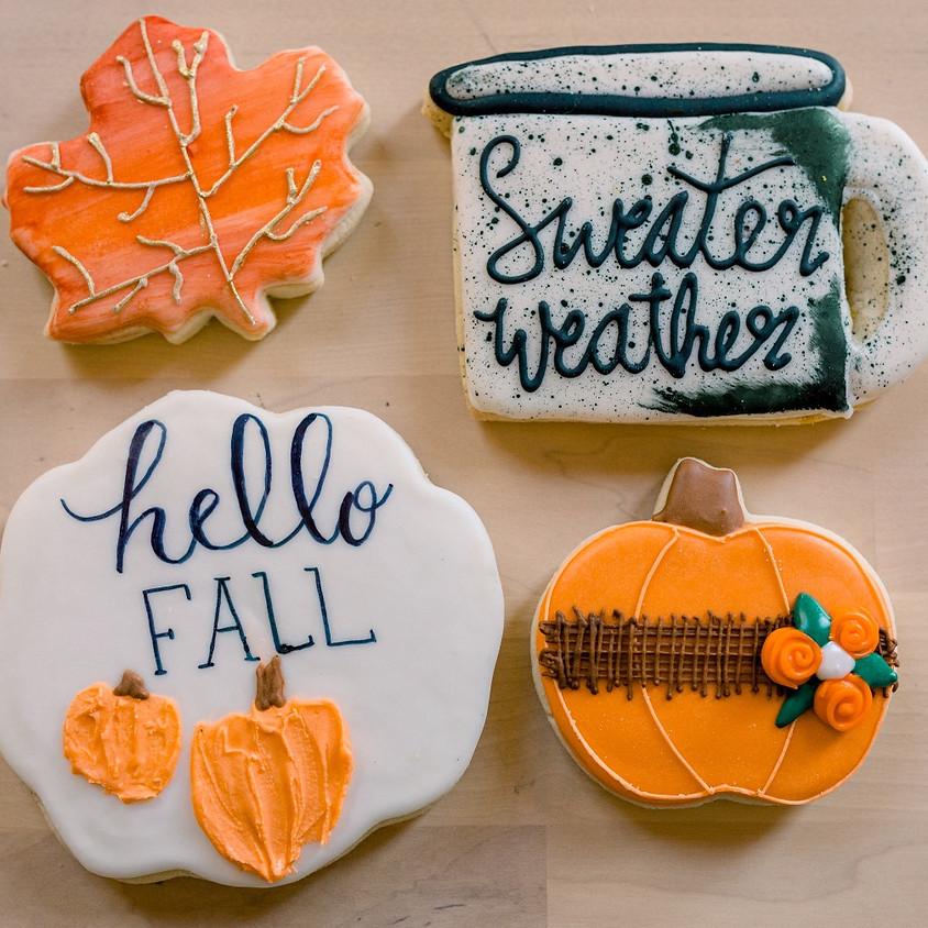Vegan Fall Cookie Decorating Class
