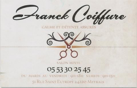 Franck coiffure