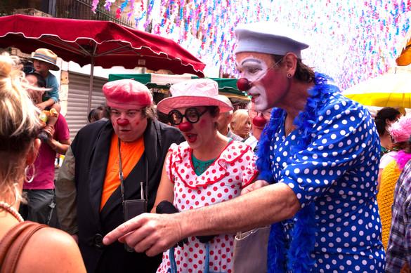 Lâcher de clowns
