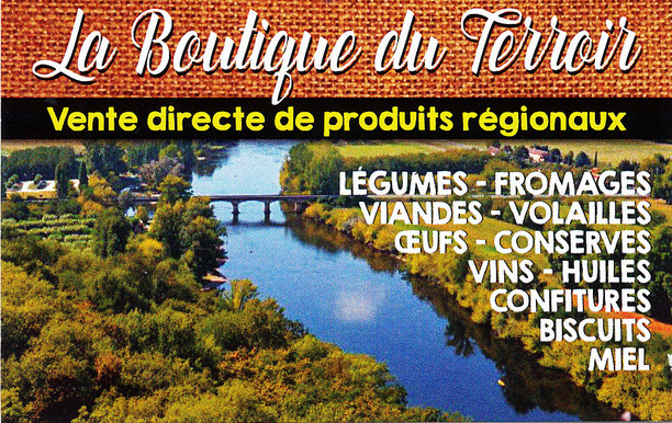 La boutique du terroir