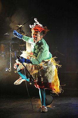 paquita de los colores, clowns