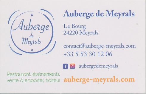 Auberge de Meyrals