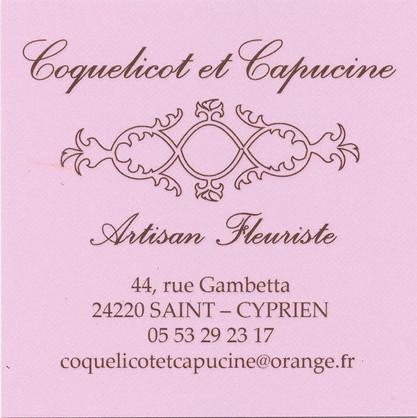 Coquelicot et Capucine