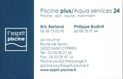 Piscine plus/Aqua services 24