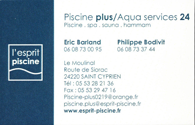 Piscine plus/Aqua services 24
