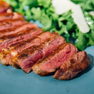 Beef striploin tagliata
