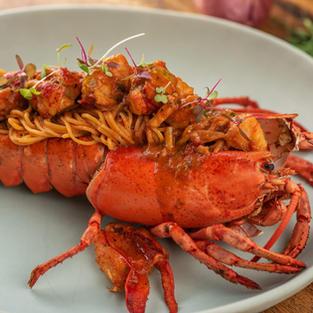 Lobster angel hair