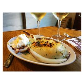 Grilled cuttlefish & aioli