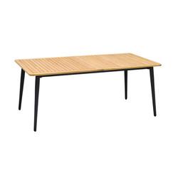 Tuin tafel houten blad