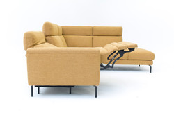 Moderne sofa met relax
