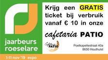 Jaarbeurs Roeselare 1-11 november 2019
