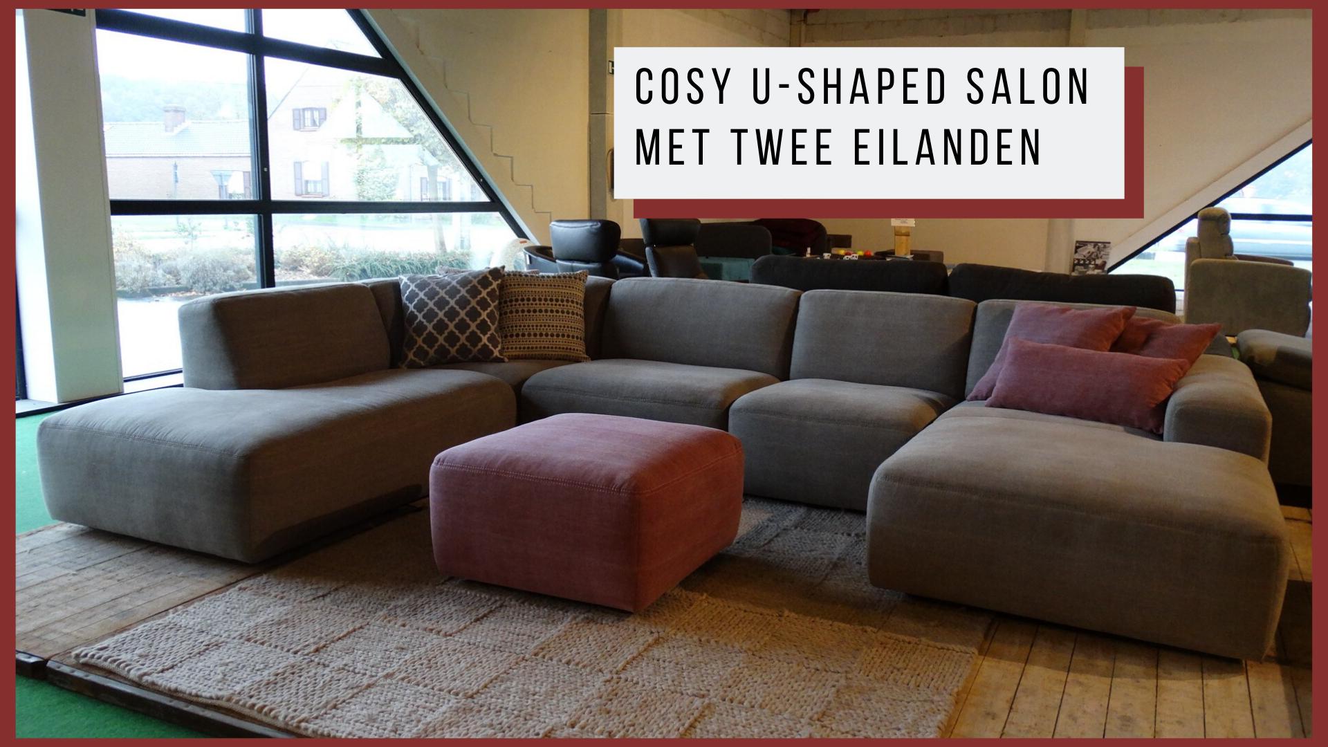 cosy u-shaped salon