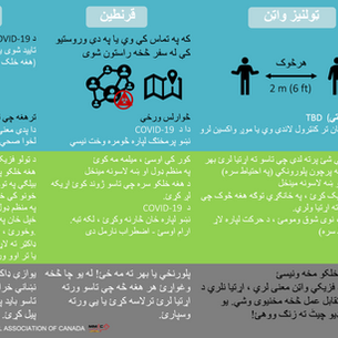 Pashto- Quarantine, Self-Isolation & Soc