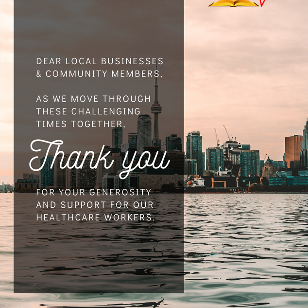 Thank you business and community members