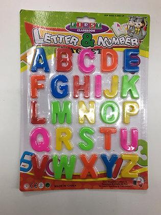Cijfers & letters met magneet