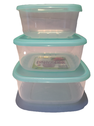 Popular food container 3pcs Gree