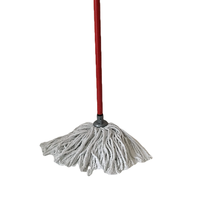 Cotton mop with metal stick