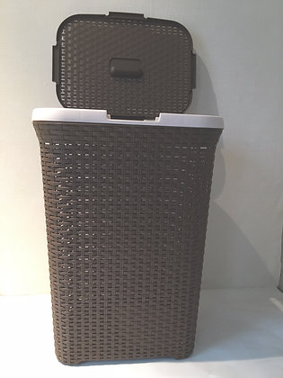 Rattan Laundry Basket brown/beige