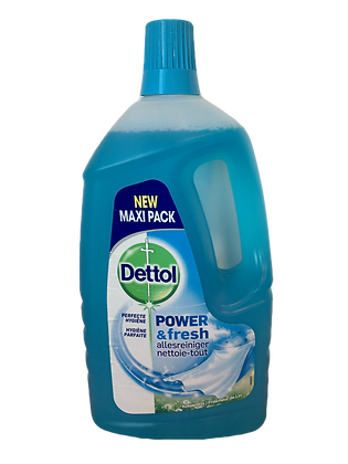 Dettol power & fresh 2 x 1500 ml