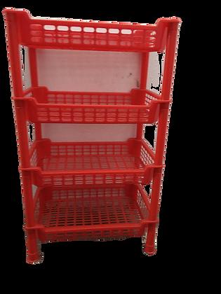 Kitchen Rack Red