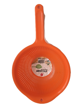 Strainer with long handle Orange