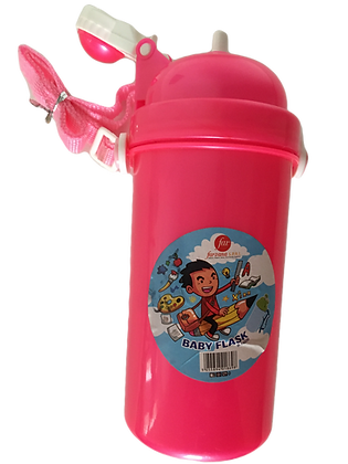 Baby flask / drinkbus 520ml red
