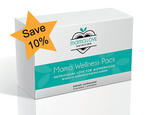 Mama Wellness Pack: 3 Month Supply