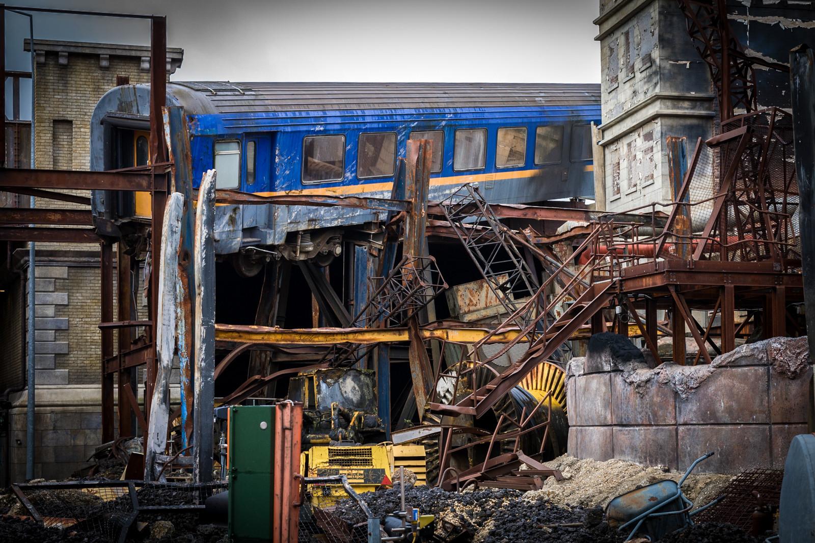 PDI - Train Crash by Nigel Bell (11 marks)